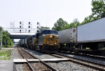 L173-10 with power from CSXT 5492(ES44DC), CSXT 7782(CW40-8) and CSXT 7705(CW40-8)